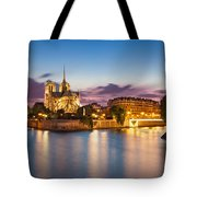 Cathedral Notre Dame Tote Bag