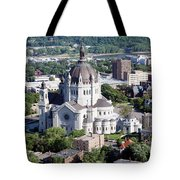 Cathedral Of St. Paul Tote Bag