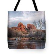 Cathedral Rocks Sunset Tote Bag
