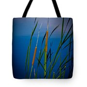 Cattails Tote Bag