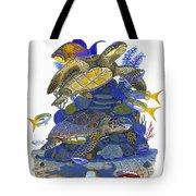 Cayman Turtles Tote Bag