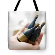 Celebration Champaign Bubbles Tote Bag