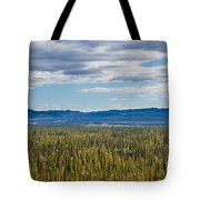 Central Yukon T Canada Taiga And Ogilvie Mountains Tote Bag