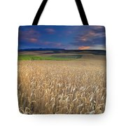 Cereal Fields At Sunset Tote Bag