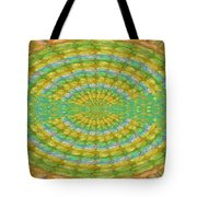 Chakra Mandala Green Wheel Meditation Unique Style Creative Beads Crystal Energy Healing Round Oval  Tote Bag