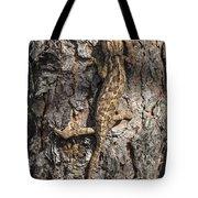 Chameleon Climbing Tote Bag