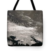 Chamonix From Above Tote Bag