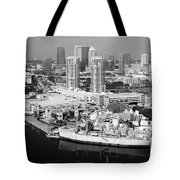 Channel District Tampa Florida Tote Bag