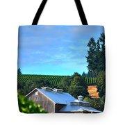 Chardonnay Vineyard 17954 Tote Bag