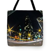 Charlotte Nc Usa - Nightlife Around Charlotte Tote Bag