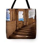 Chateau De Blois Staircase / Loire Valley Tote Bag