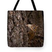 Cheeky Chipmunk Tote Bag
