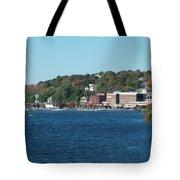 Chelsea Harbor In Fall Tote Bag