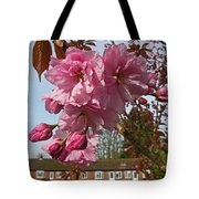 Cherry Blossom Spring Tote Bag