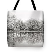 Cherry Blossoms In Tokyo Tote Bag