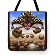 The Chess Master Tote Bag