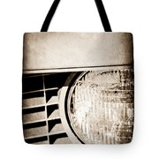 Chevrolet Camaro Headlight Emblem Tote Bag