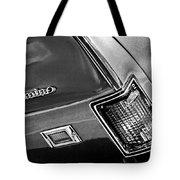 Chevrolet El Camino Taillight Emblem Tote Bag
