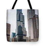 Chicago Architecture Tote Bag