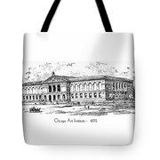 Chicago Art Institute - 1879 Tote Bag