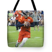 Chicago Bears Qb David Foles Training Camp 2014 05 Tote Bag