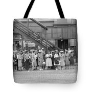 Chicago Commuters, 1940 Tote Bag