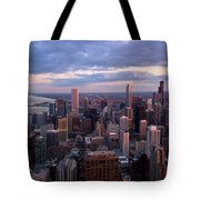Chicago Il. Skyline, May 2009 Tote Bag