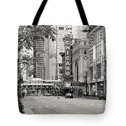 Chicago Theatre - French Baroque Out Of A Movie Tote Bag