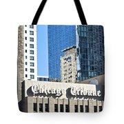 Chicago Tribune Tote Bag