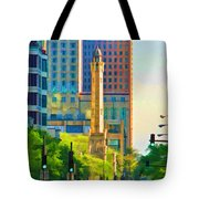 Chicago Water Tower Beacon Tote Bag