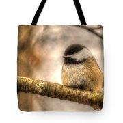 Chickadee Magic Tote Bag