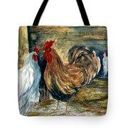 Chicken Coop Tote Bag