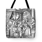 Childbirth, 1580 Tote Bag