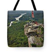 Chimney Rock Overlook Tote Bag