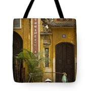 Chinese Temple In Hanoi Vietnam Tote Bag