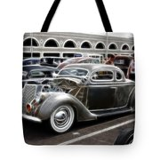 Chopped Ford Coupe Tote Bag by Steve McKinzie