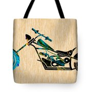 Chopper Art Tote Bag