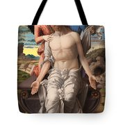 Christ As The Suffering Redeemer  Tote Bag