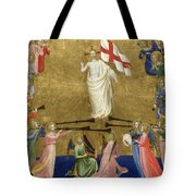 Christ Glorified In The Court Of Heaven Tote Bag