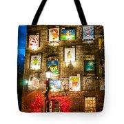 Christmas Art Building Tote Bag