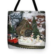 Christmas Greetings Tote Bag