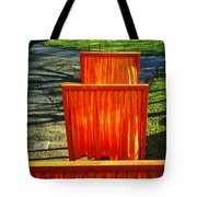 Christo - The Gates - Project For Central Park Tote Bag