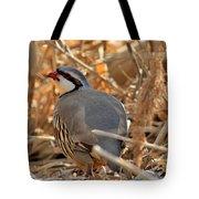 Chukar Partridge Tote Bag