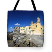 church in Camogli Tote Bag
