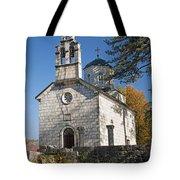Church In Cetinje Montenegro Tote Bag