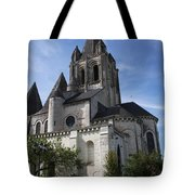 Church - Loches - France Tote Bag
