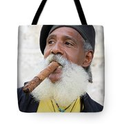Cigar Man Tote Bag