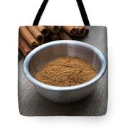 Cinnamon Spice Tote Bag