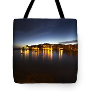 Cinque Terre At Night Tote Bag