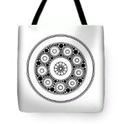 Circle Motif 138 Tote Bag
